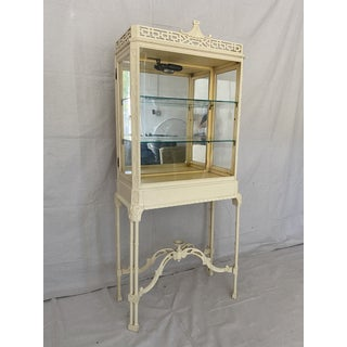 Vintage Chinoiserie Pagoda Display Cabinet Preview