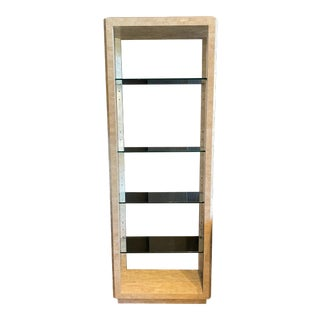 1970s Tessellated Stone Etagere For Sale