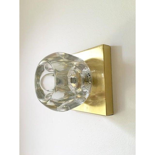 Sciolari Glass & Brass Sconce - Image 2 of 10