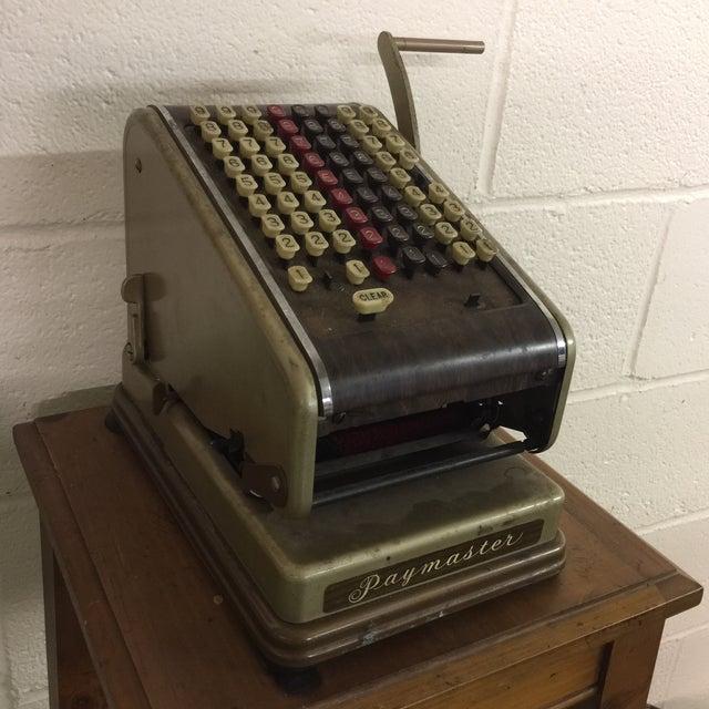 Vintage Paymaster 700 Check Writer - Image 2 of 9