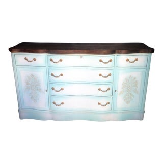 Serpentine Front Buffet/Sideboard For Sale