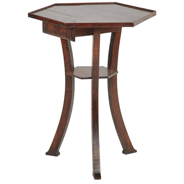 Late 18th Century 18th Century English Octagonal Side Table For Sale - Image 5 of 5