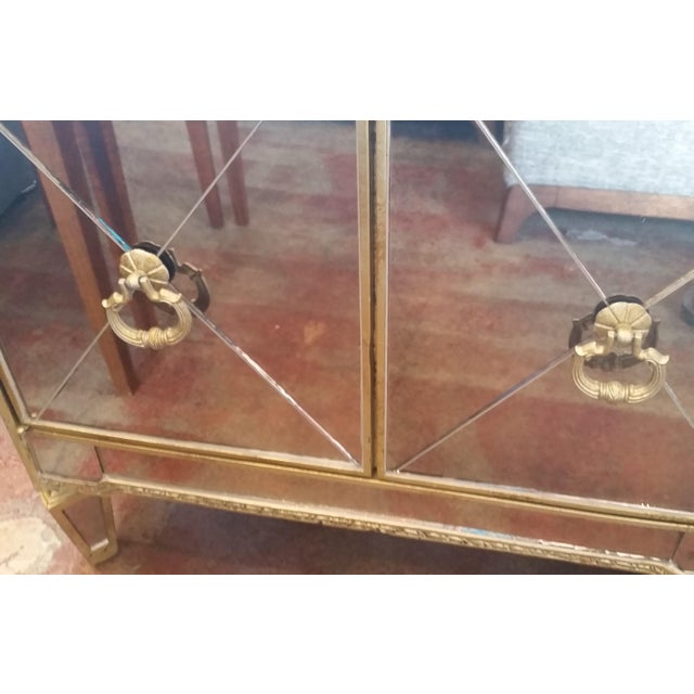Borghese Mirrored Nightstand - Image 5 of 5