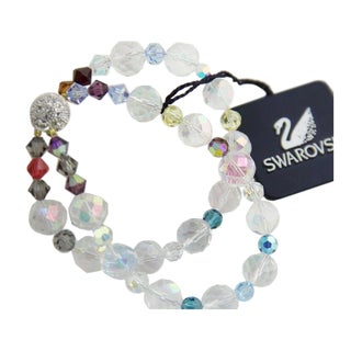 Swarovski Swan Crystal Bracelet For Sale