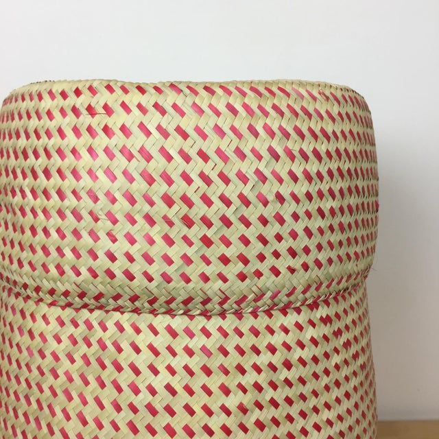 Oaxacan Palm Basket - Image 3 of 5