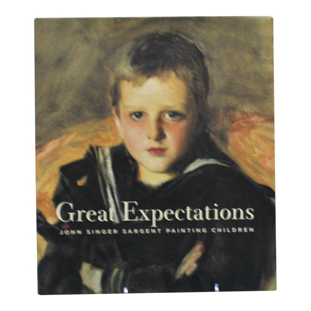 """Great Expectations"" John Singer Sargent Brooklyn Museum Book and Signature Blue Museum Printed Bag For Sale"