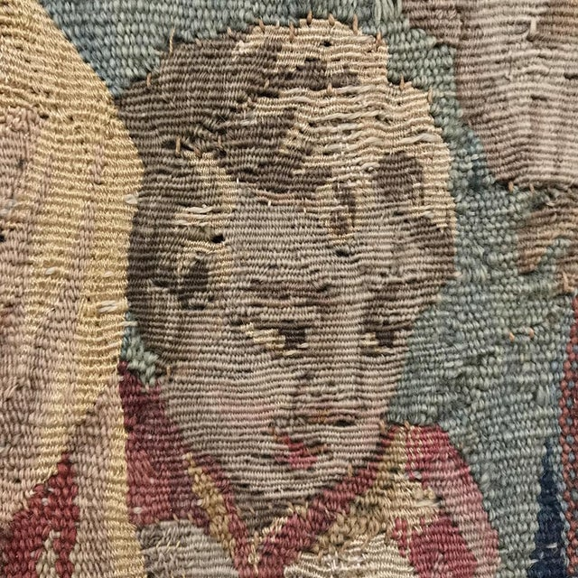 Grand 17th Century Oudenaarde Tapestry For Sale - Image 9 of 13
