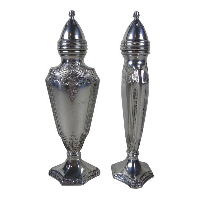 Art Deco Salt & Pepper Shakers- A Pair For Sale