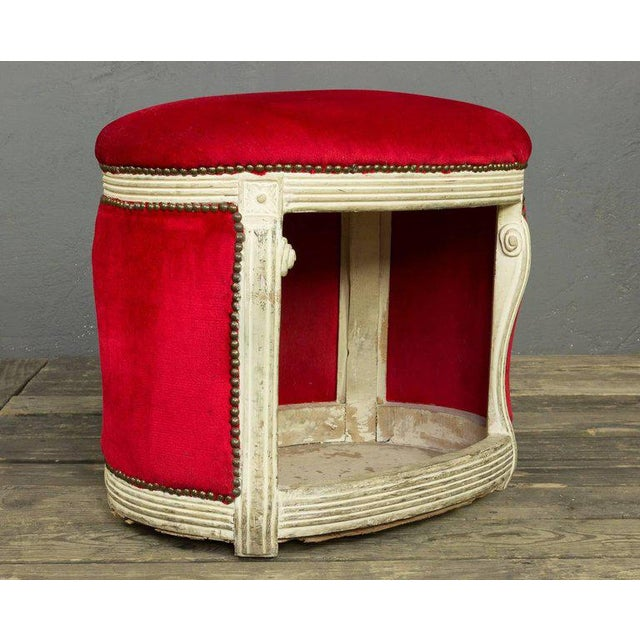 20th Century, French Footstool with Built in Dog Bed - Image 6 of 9