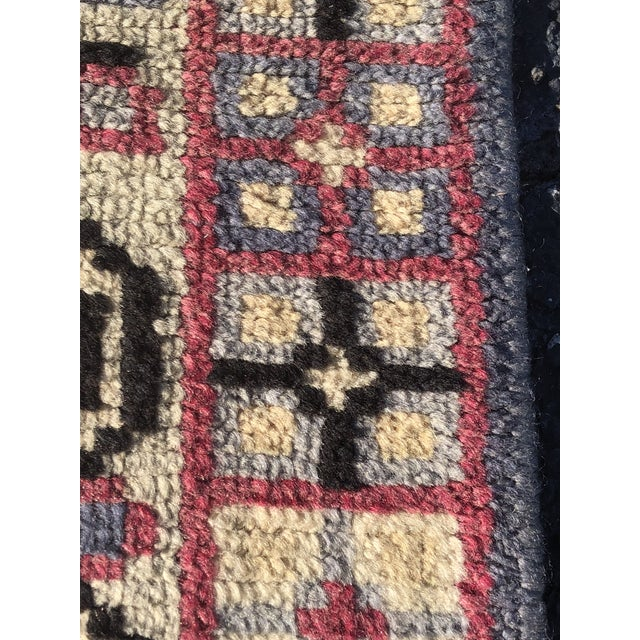 Vintage Turkish Anatolian Small Area Rug - 2′4″ × 4′ For Sale - Image 5 of 11