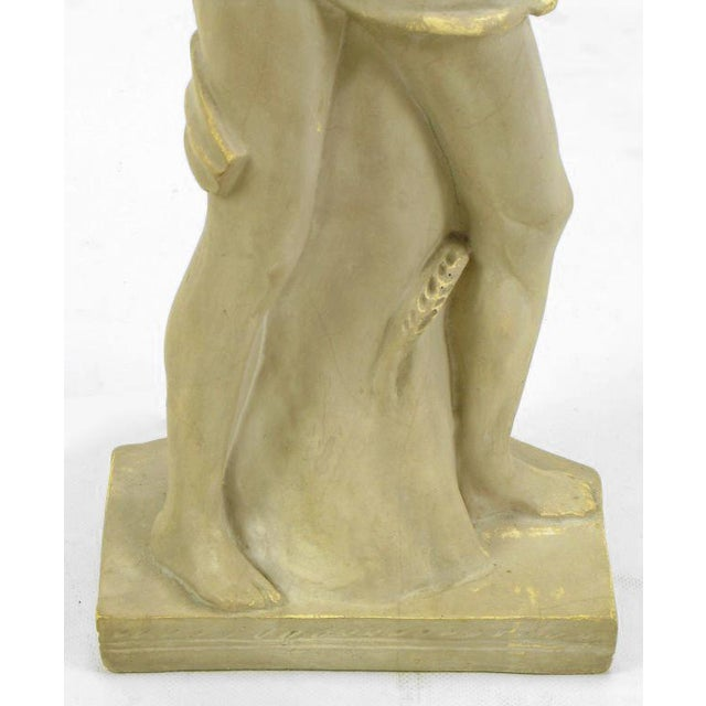 Egyptian Figure Table Lamp by Chapman For Sale - Image 9 of 11
