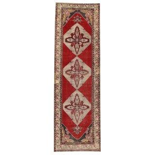 20th Century Turkish Oushak Carpet Runner For Sale