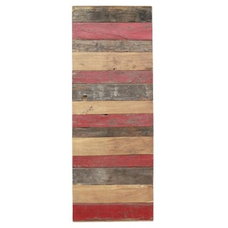 Bohemian Reclaimed Stripe Door For Sale