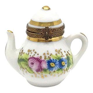 Limoges Box, Little Tea Pot For Sale