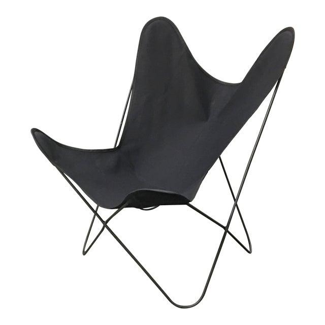 Jorge Ferrari-Hardoy Mid-Century Butterfly Chair For Sale
