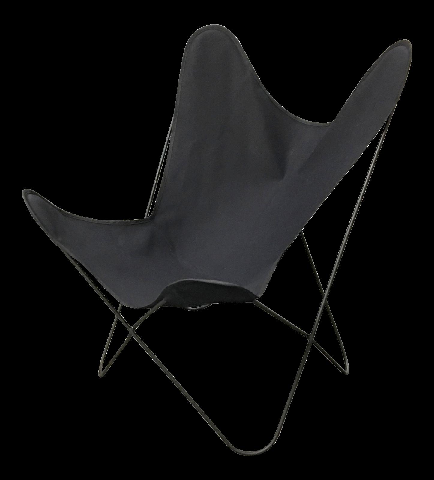 Jorge Ferrari Hardoy Mid Century Butterfly Chair