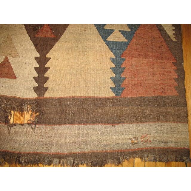 Vintage American Navajo Rug - 5′2″ × 9′5″ For Sale - Image 4 of 6