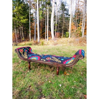 Bohemian Embroidered Chaise Preview