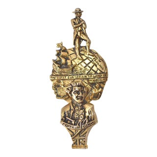 Captain Cook Door Knocker