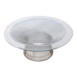 Mid 20th Century Warren Platner for Knoll Coffee Table For Sale