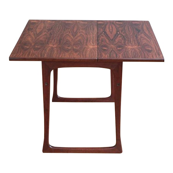 Folding Rosewood Occasional Table by J. Ingvard Jensen - Image 1 of 5
