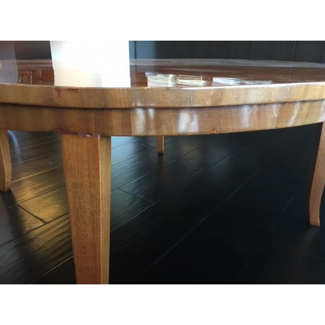 Stunning Round Coffee Table - Image 5 of 8