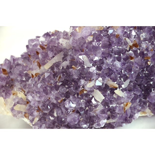 Mid 20th Century Natural Amethyst Blossom Mound For Sale - Image 5 of 8
