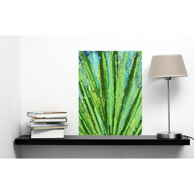 """""""Succulent"""" Original Abstract Acrylic Painting by Tony Marine For Sale - Image 4 of 6"""