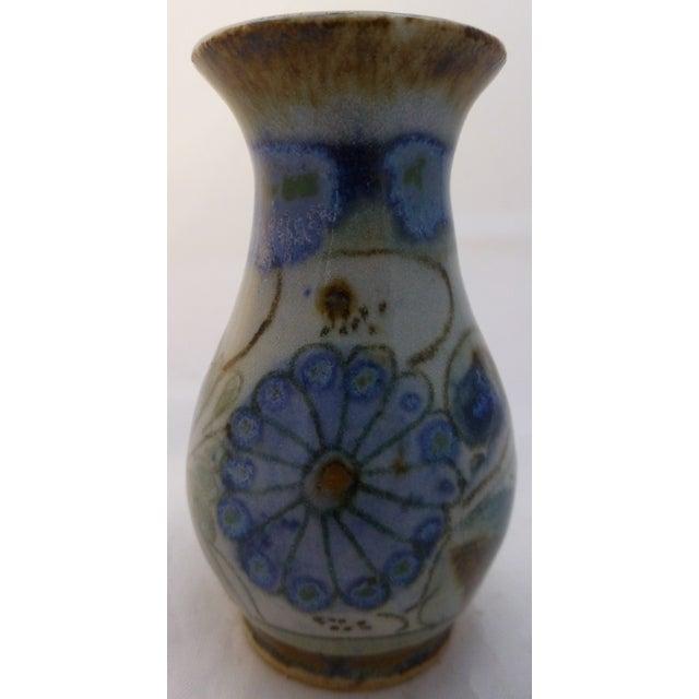 Vintage Ke Mexican Pottery Bud Vase - Image 2 of 6