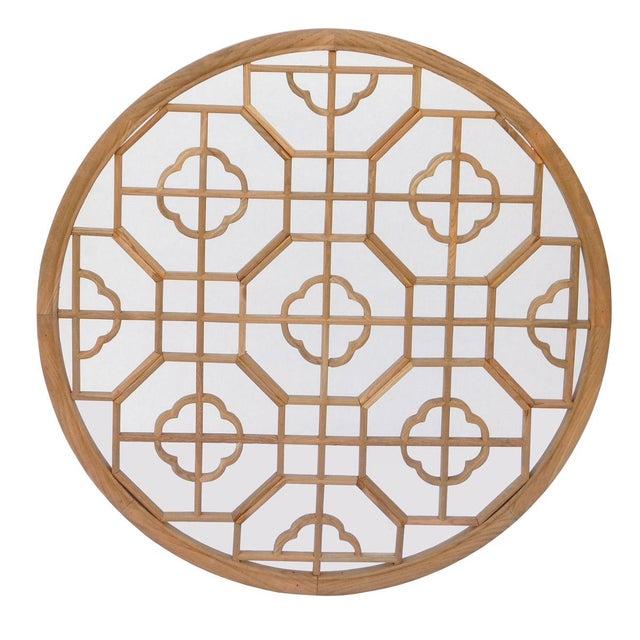 Chinese Geometric Wall Panel - Image 3 of 5