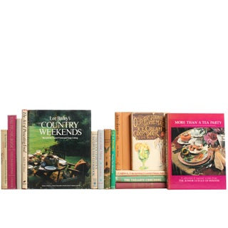 Picnics, Teas & Entertaining Books - Set of 15