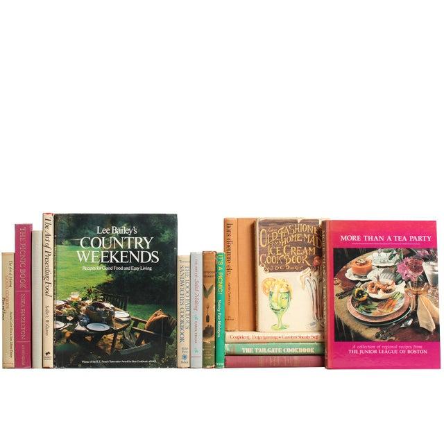 Picnics, Teas & Entertaining Books - Set of 15 - Image 1 of 2