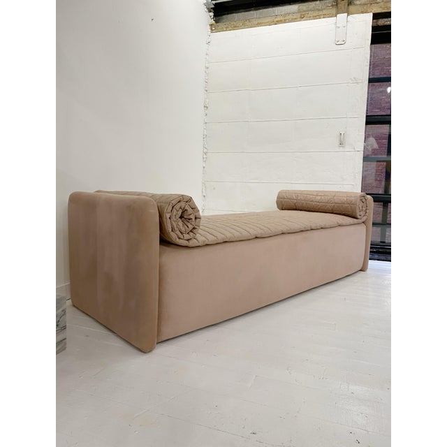 John Saladino Blush Chaise For Sale - Image 11 of 11