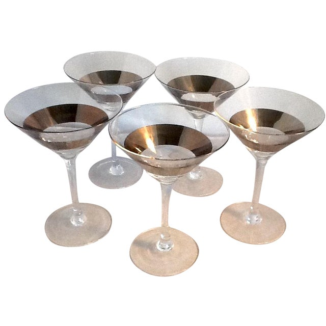 Dorothy Thorpe Martini Glasses - Set of 5 - Image 1 of 5