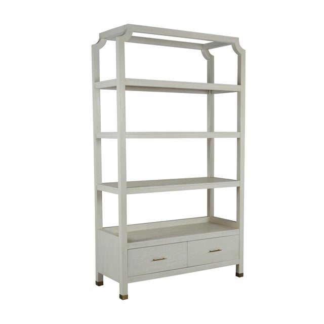 Gabby Home Crest Bookcase For Sale - Image 13 of 13