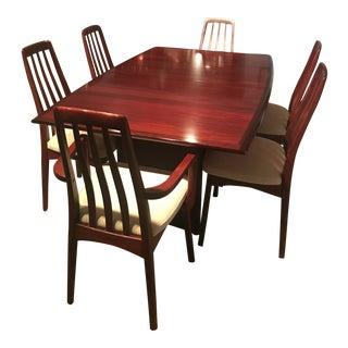 Mid-Century Modern Danish Rosewood Dining Set For Sale