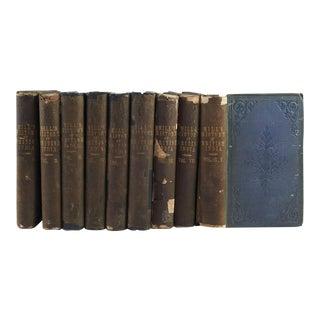 1858 History British India - Set of 9