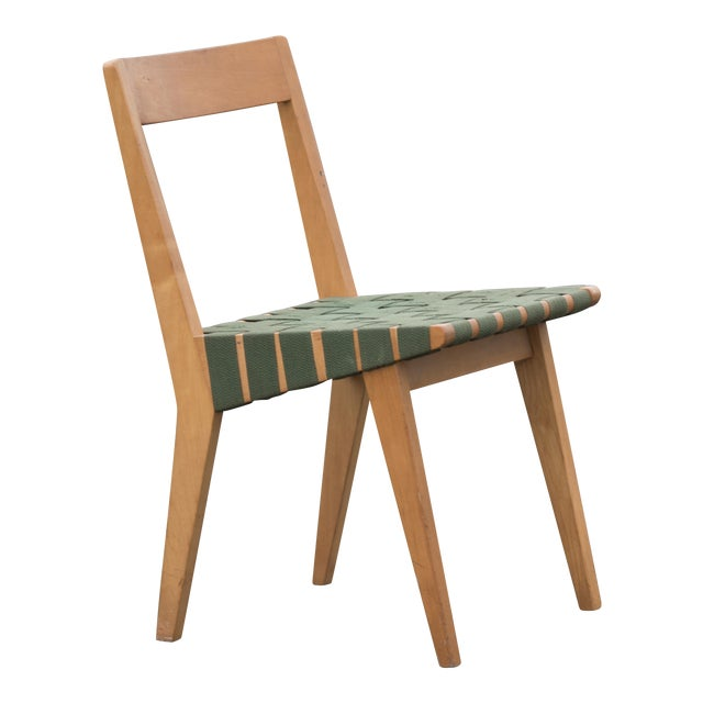 1940s Mid-Century Modern Jens Risom for Knoll Side Chair For Sale