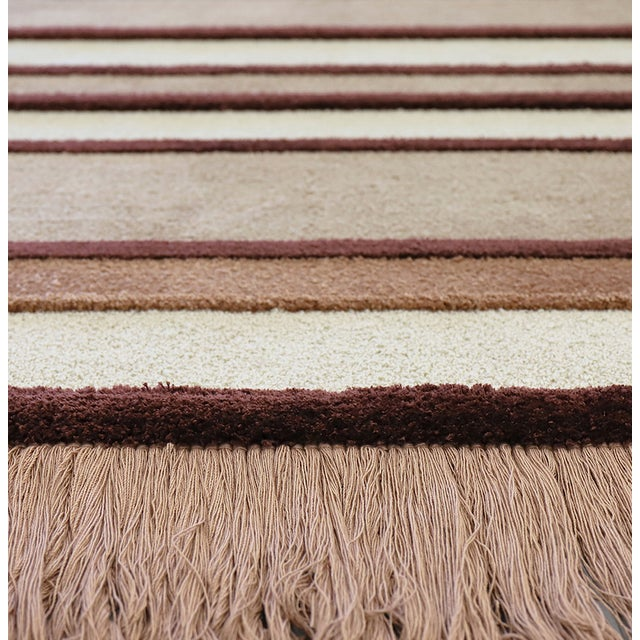 Tan Lucy Rug From Covet Paris For Sale - Image 8 of 10