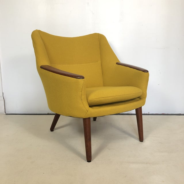 Kurt Orstervig for Rolschau Mobelfabrik Lounge Chair For Sale - Image 12 of 12