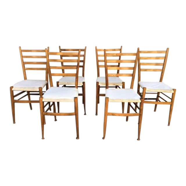 Italian Dining Chairs - Set of 6 - Image 1 of 6