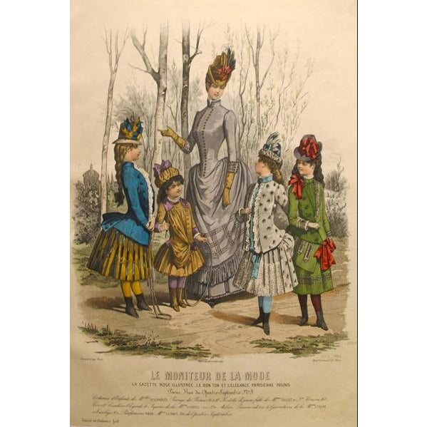 About The Poster: A vibrantly detailed, highly colored chromolithograph from the Parisian subscription publication Le...