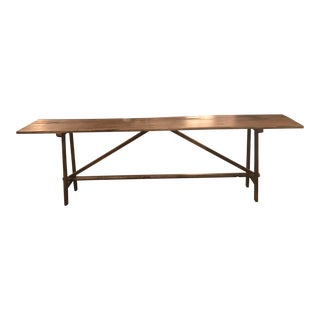 Mexican Handmade Console Table For Sale