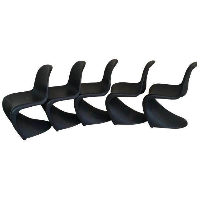 Verner Panton S Chairs - Set of 5 - Image 1 of 10