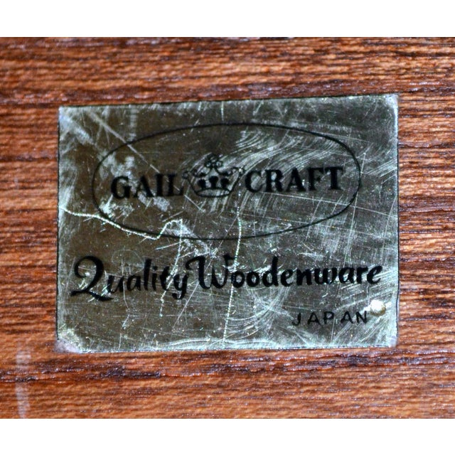 Mid 20th Century Vintage Gailcraft Wooden Cheeseboard For Sale - Image 5 of 6
