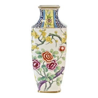Antique Nippon Floral Vase