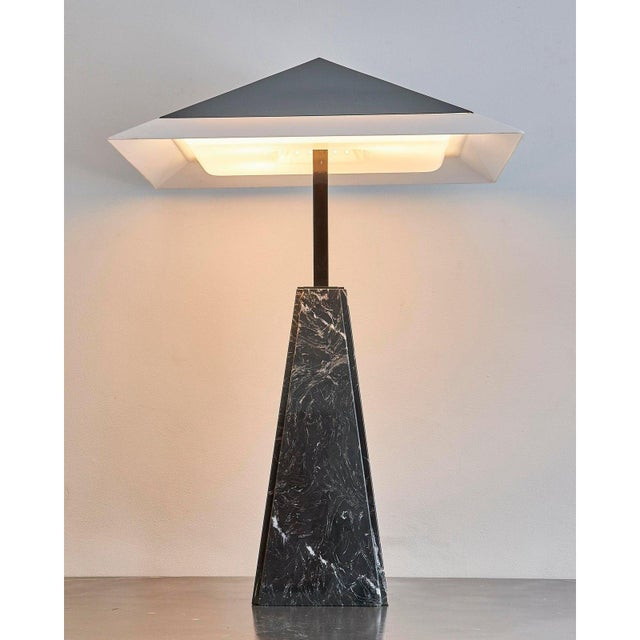 Acrylic Arteluce Table Lamp by Cini Boeri, Italy For Sale - Image 7 of 8
