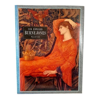 Sir Edward Burne-Jones Pre-Raphaelite Aesthetic Movement Art Book by Russell Ash For Sale