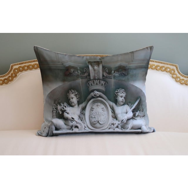 Architecture Photo Marble Overdoor Pillow For Sale - Image 10 of 13