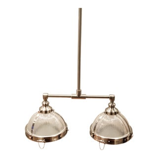Restoration Hardware Clemson Double Pendant Light